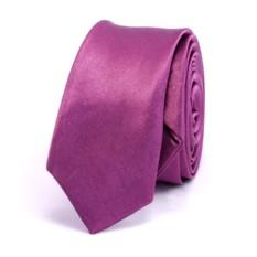 Супер узкий галстук (сиреневый)