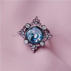Кольцо с кристаллами Сваровски «1001 ночь»