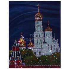 Картина Swarowski Колокольня Ивана Великого