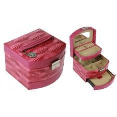 Шкатулка для украшений Pink case Calvani