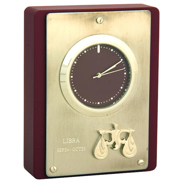 Часы настольные «Весы»