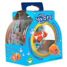 Игрушка Рыбка-акробат Лакки с аквариумом Redwood