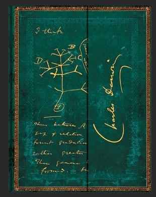 Записная книжка Paperblanks Чарльз Дарвин, Древо Жизни