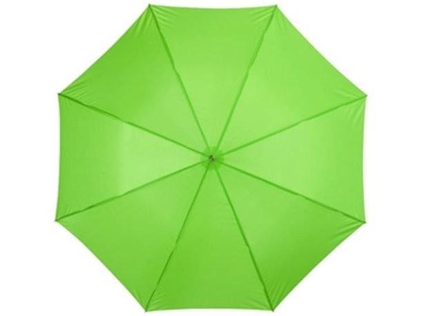 Зеленый зонт-трость