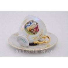 Набор чашек 0,15 л с блюдцем Leander Соната 31044