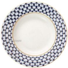 Фарфоровая тарелка Кобальтовая сетка (диаметр 22 см)