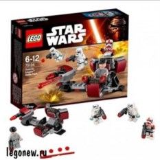 Конструктор Star War Боевой набор Галактической Империи