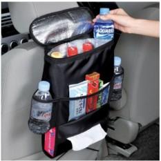 Органайзер на спинку сидения автомобиля с холодильником