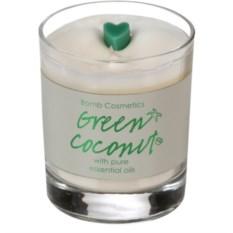 Свеча с эфирными маслами Зеленый кокос
