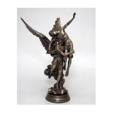 Бронзовая композиция Ангел-спаситель