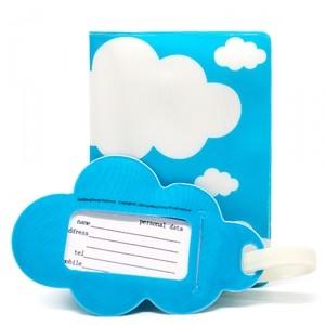 Обложка для паспорта Sweet journey Clouds (с биркой)