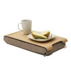 Мини-подставка с деревянным подносом Laptray (дерево/песчаная)