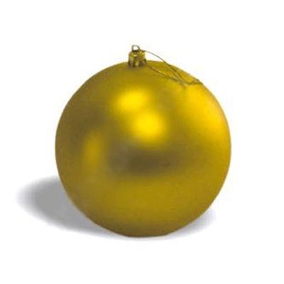 Шар матовый золотой