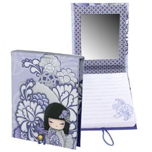Карманный блокнот с зеркалом Кийока (Kyoka) - Счастье