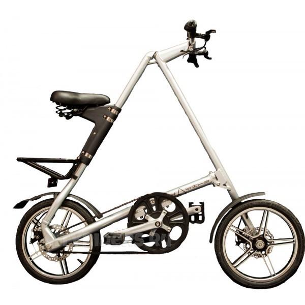 Складной серебряный велосипед Citybike 2.0