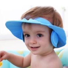 Шапочка с ушками для купания ребенка
