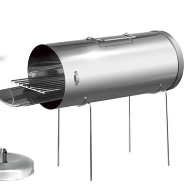 Коптильное устройство из нержавеющей стали в чехле
