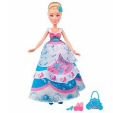 Кукла Принцесса в платье со сменными юбками Золушка