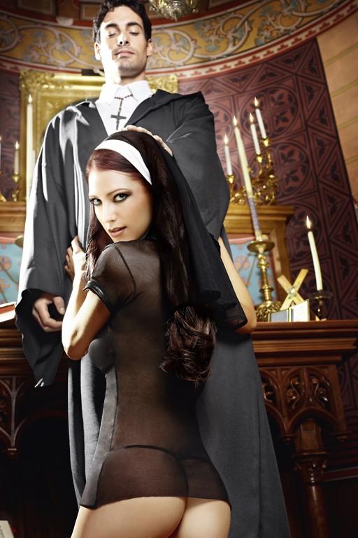 Игровой костюм Очаровательная монашка