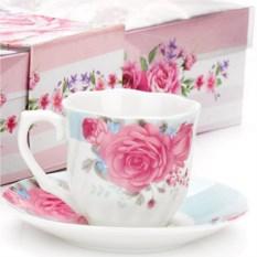 Фарфоровый кофейный набор на 6 персон Lorain
