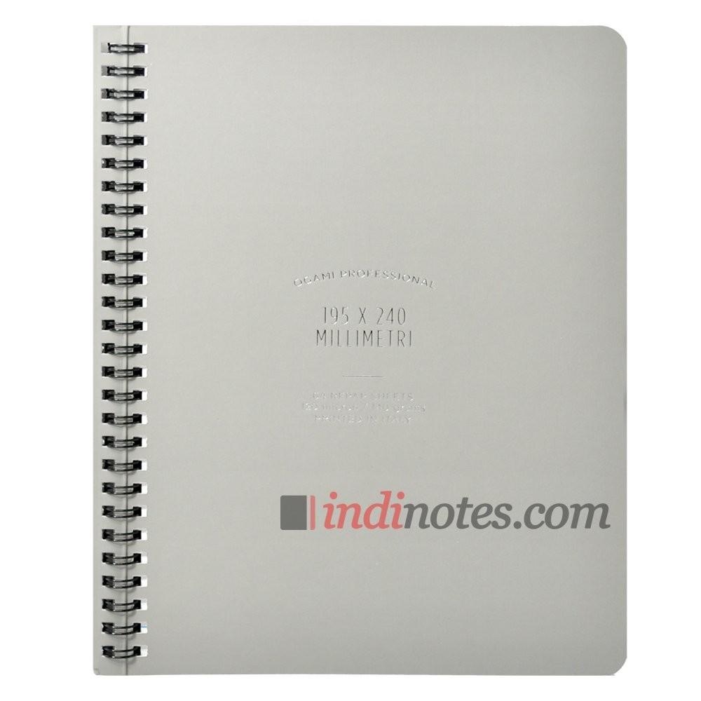 Записная книжка из каменной бумаги Professional Large Grey
