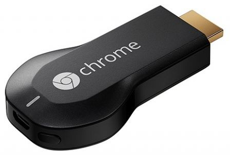 Адаптер Google Chromecast
