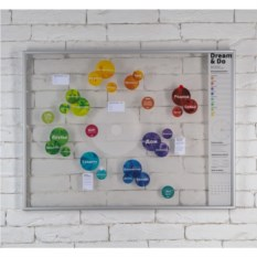 Пластиковая скретч-карта желаний Мечтай и Делай
