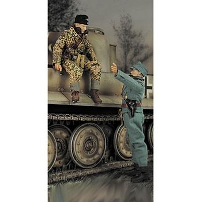Фигурка немецкого танкиста СС Тима Бейкера