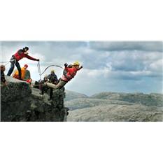 Сертификат на Роупджампинг - четыре прыжка с веревкой