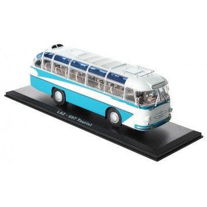 Коллекционная модель автобуса ЛАЗ-697Е Турист
