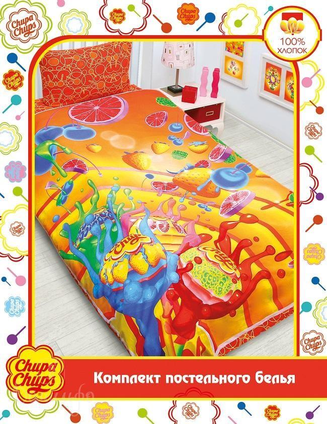 Детское постельное белье Chupa-Chups. Ягодный взрыв