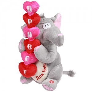Поющая игрушка «Приветливый слоник»