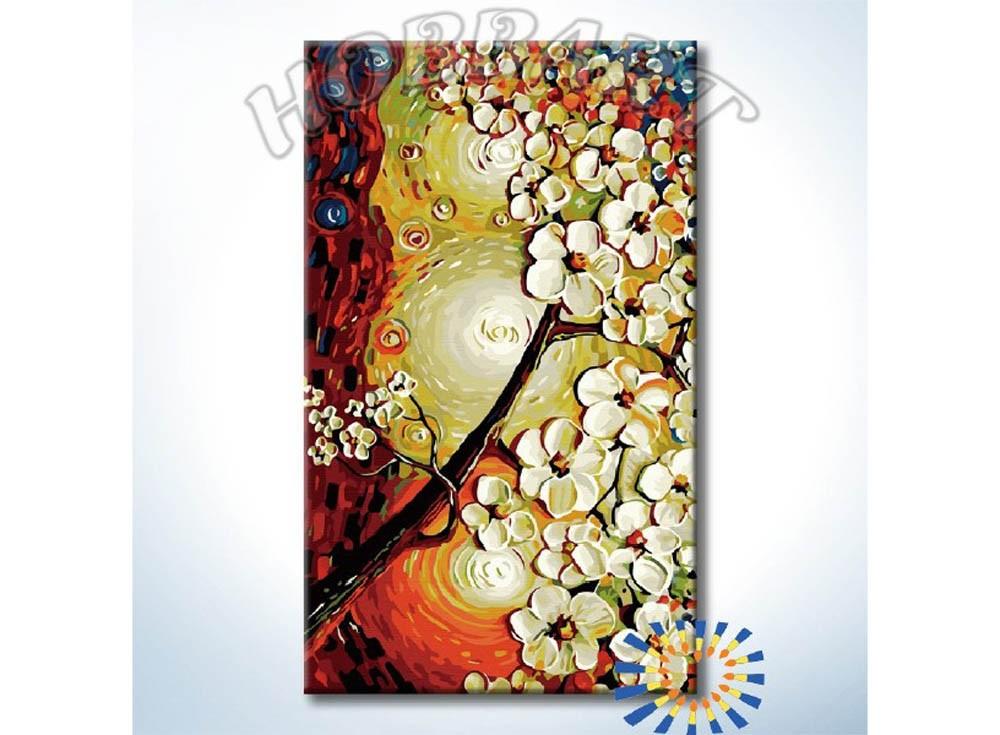 Картины по номерам «Три солнца»