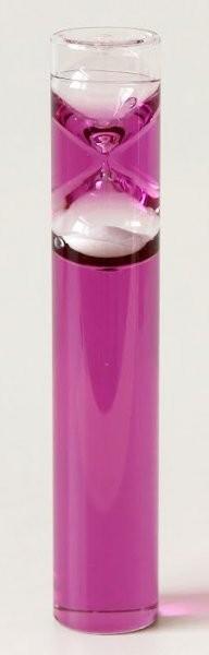 Песочные часы жидкие, 2 мин., фиолетовые