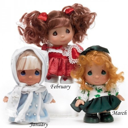 Кукла March Calendar Cutie - Mini Moments