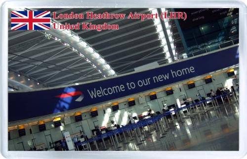 Аэропорт Хитроу (Лондон). Добро пожаловать!
