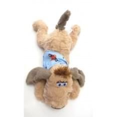 Мягкая игрушка Собачка в голубой кофточке (48 см)