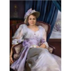 Фотомонтаж лица – женский портрет