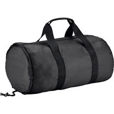 Спортивная складная сумка, черная