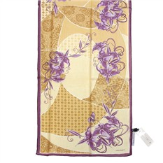 Фирменный шарф  с узорами и цветами Laura Biagiotti
