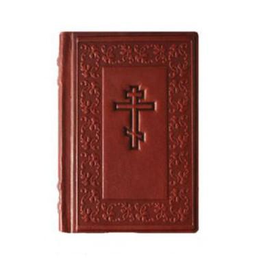 Библия средняя с художественным тиснением