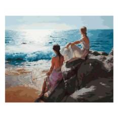 Картина по номерам «У самого синего моря»