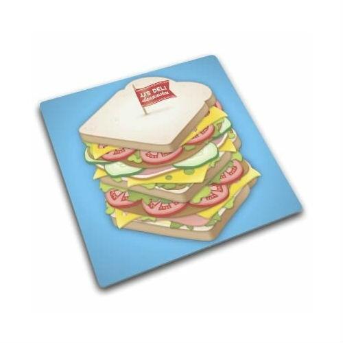 Стеклянная доска для защиты рабочей поверхности Sandwich