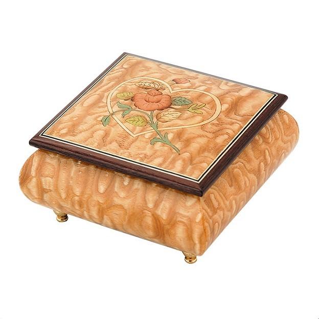 Музыкальная шкатулка для украшений Giglio, светлый орех
