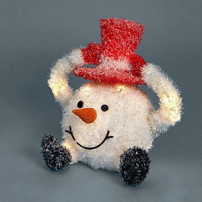 Снеговик-колобок