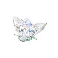 Хрустальная статуэтка Королевский цветок — перидот