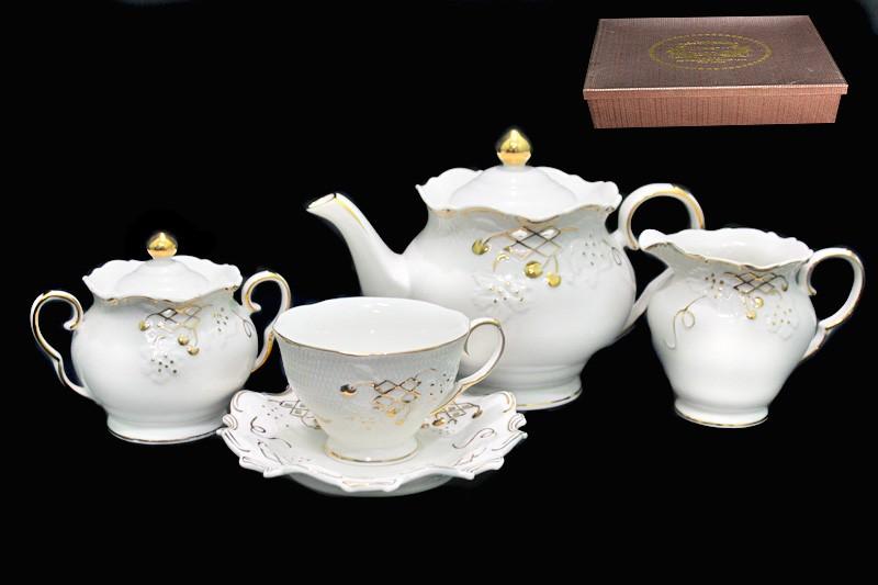 Чайный сервиз Лоза из 17 предметов