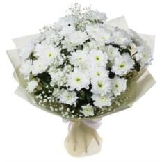 Букет цветов Белоснежка