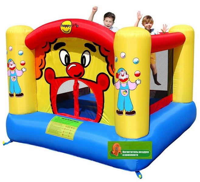 Детский надувной батут Веселый Клоун HAPPY HOP