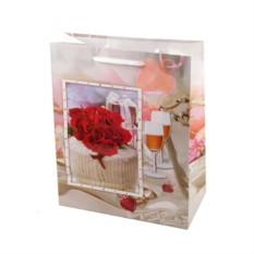 Пакет для подарка Свадебный
